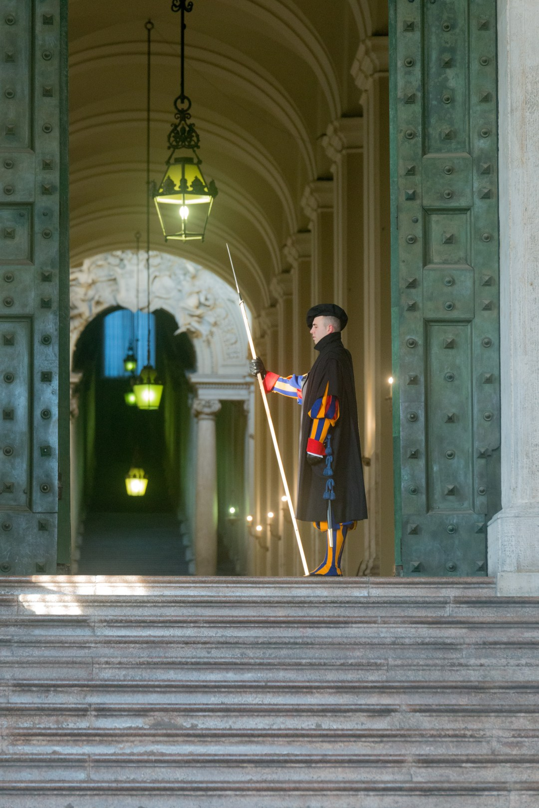 Swiss Vatican guard