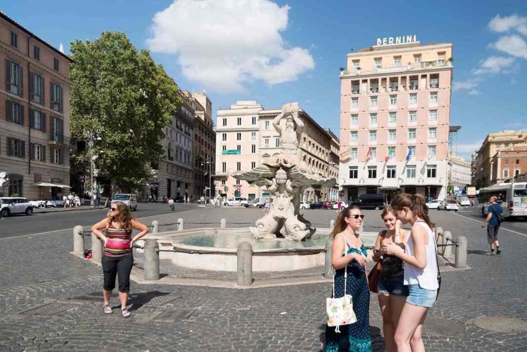 piazza barberin
