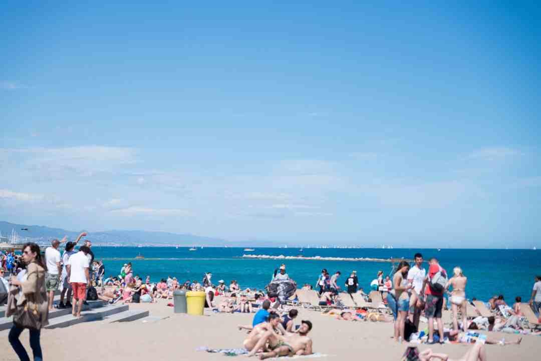 Beaches of Barcelona Platja Barcelona