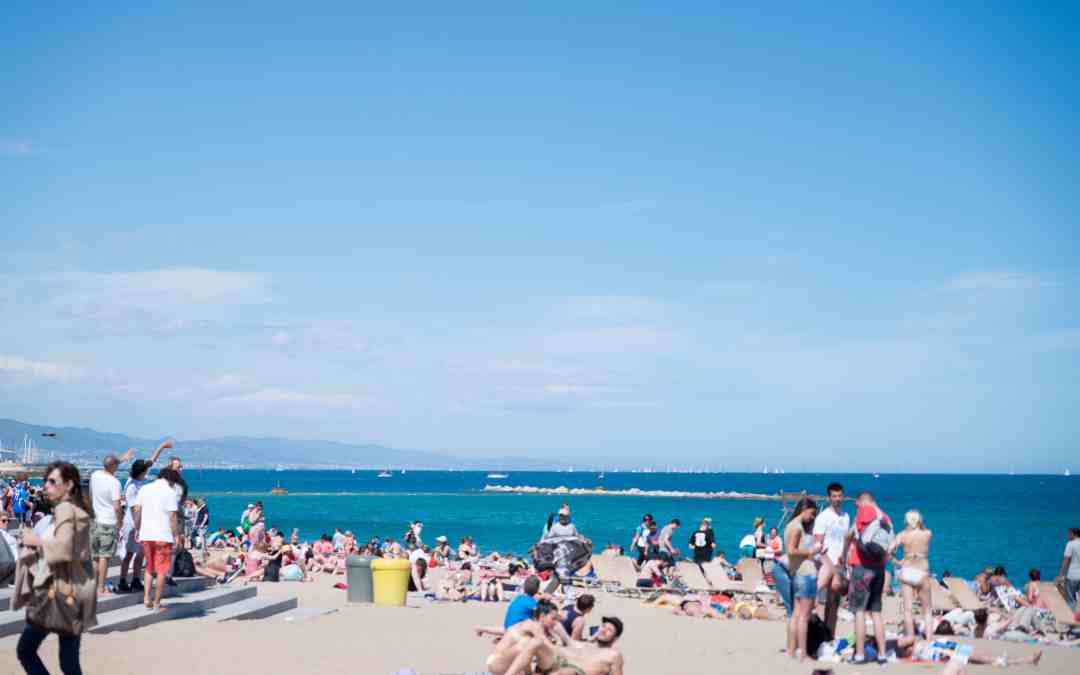 Beaches of Barcelona Spain