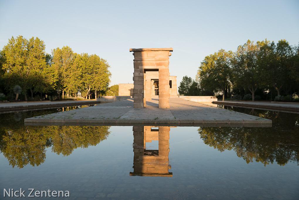 Eygptian temple