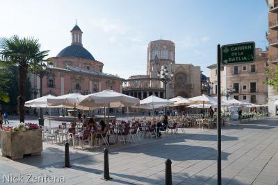 Valencia Spain square