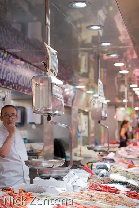 Central market Valencia Spain