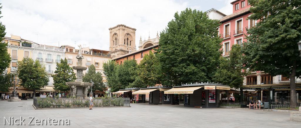 Granada town square