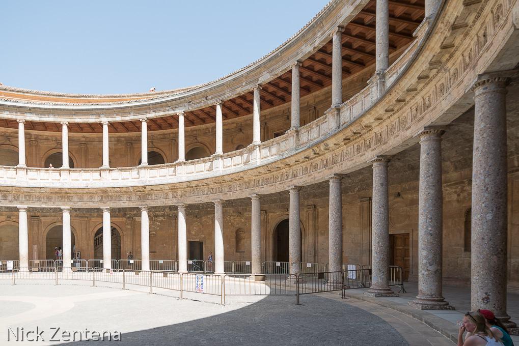 PALACIO DE CARLOS V Alhambra Granada