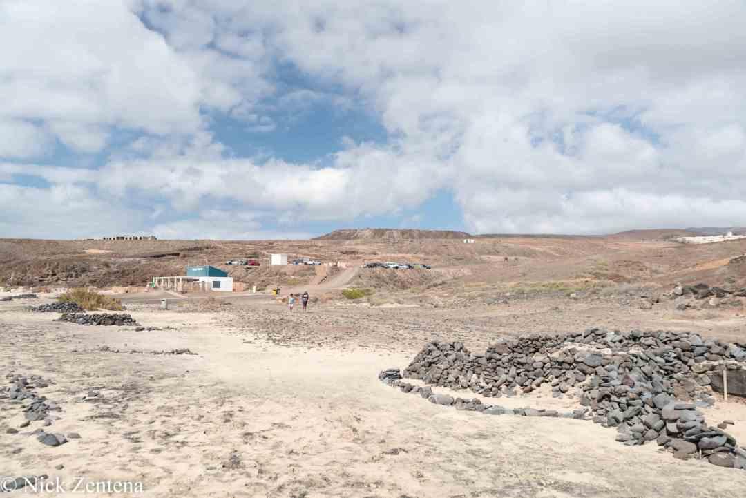 Playa tierra Dorada Morro Jable fuerteventura