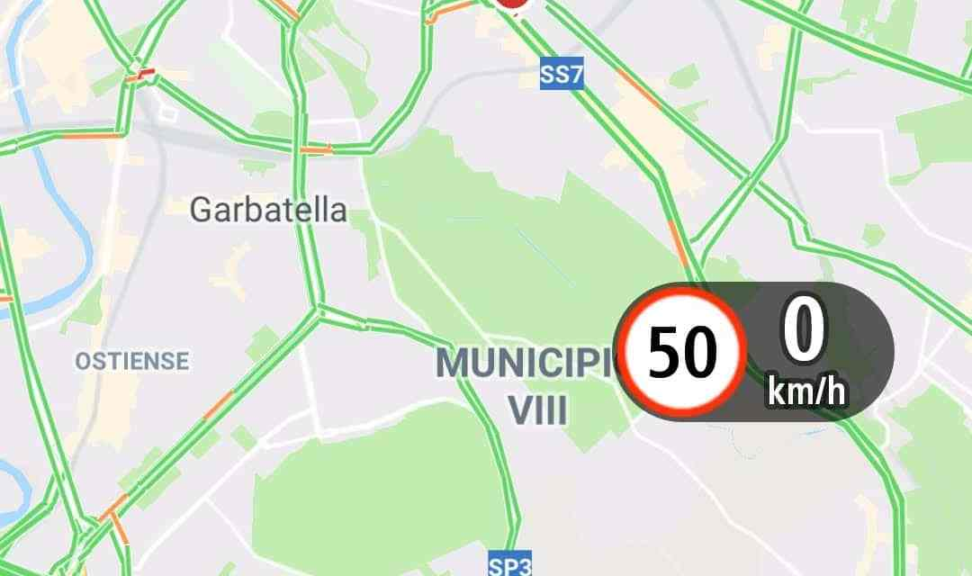 Avoiding speeding tickets in Italy using the TomTom speed camera app