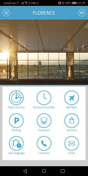 TUSCAN AIRPORT APP. FOR BOTH FLORENCE AND PISA ITALY