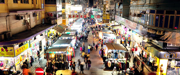 The Temple Street Night Market in Jordan is full of life each and every night.