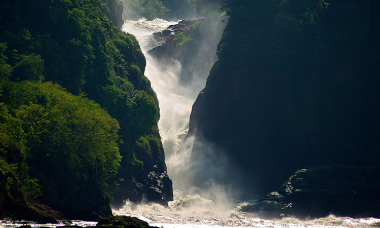 The View of Murchison Falls from Bellow, Murchison Falls National Park
