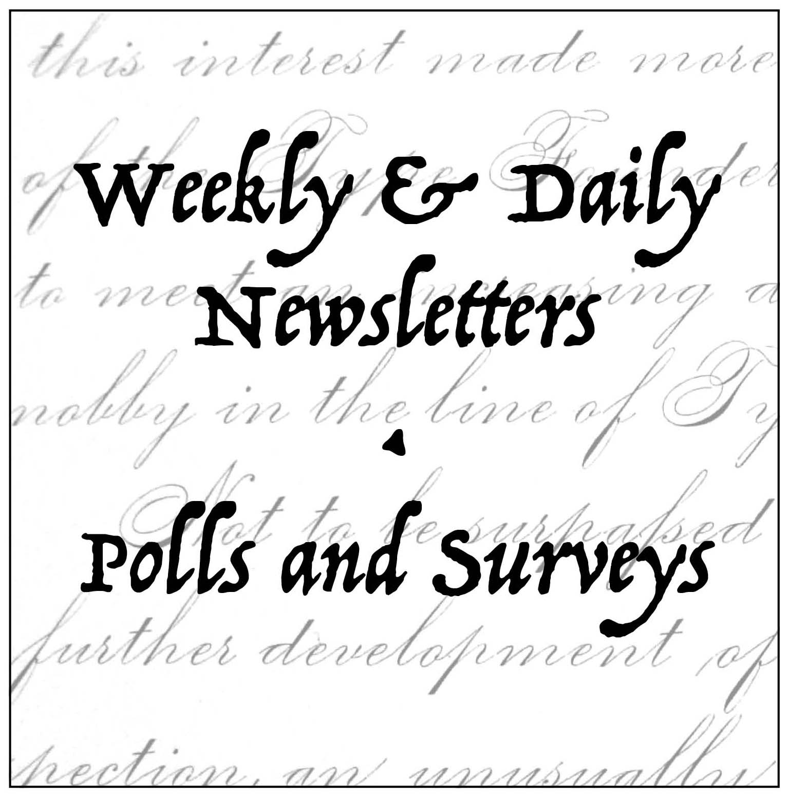 Newsletters Polls And Surveys That Make A Difference