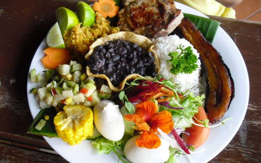 Traditional Costa Rican Dishes