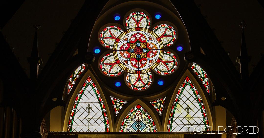 Melbourne - Dreifaltigkeitskirche Lutheran Trinity Church Stained Glass