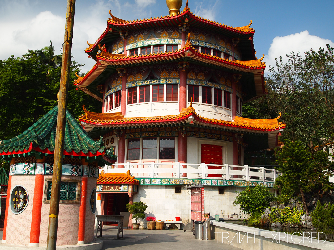 Hong Kong - Main Pagoda at Yuen Yuen Institute
