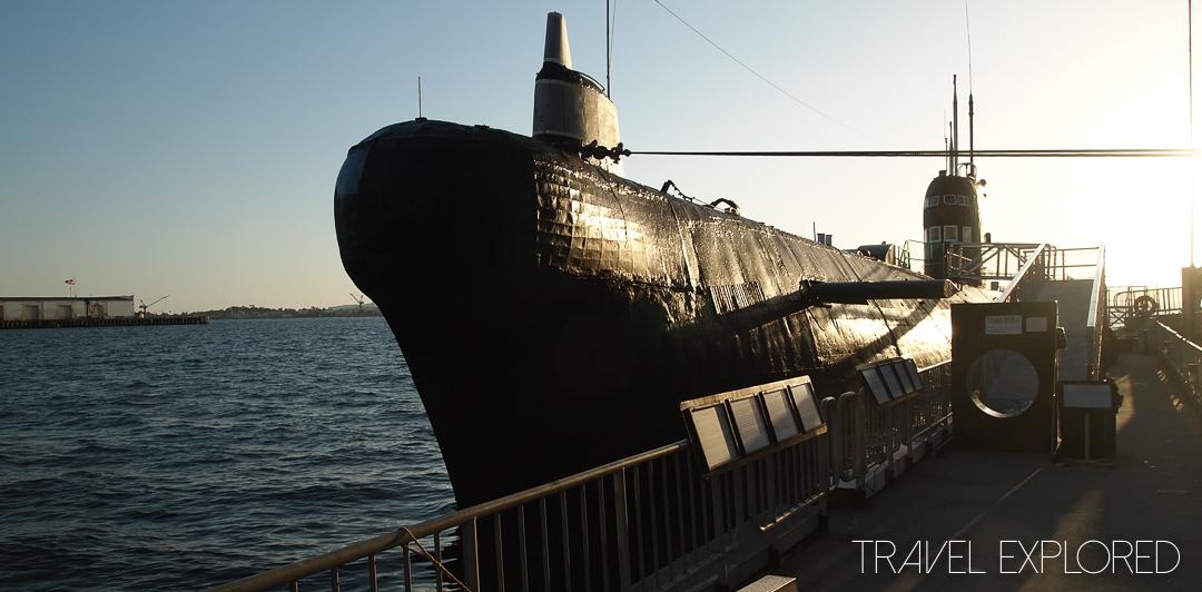 San Diego - Foxtrot B-39 Soviet Submarine