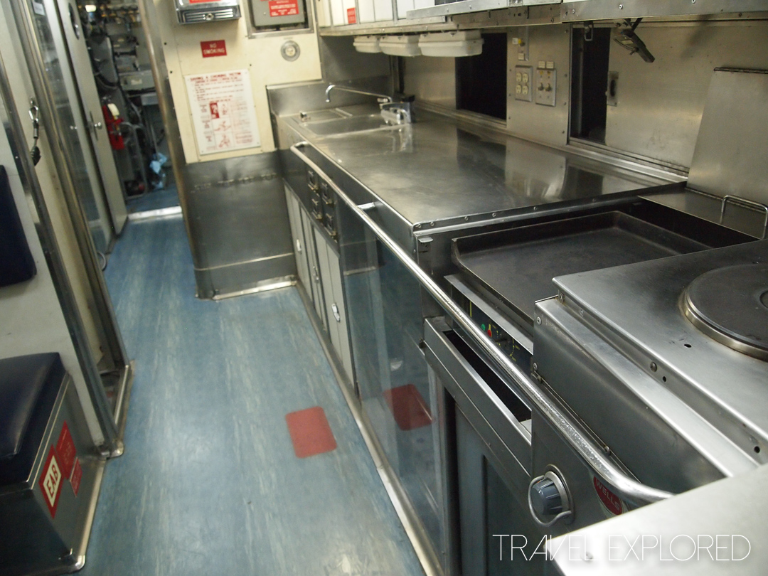San Diego - USS Dolphin Kitchen Area