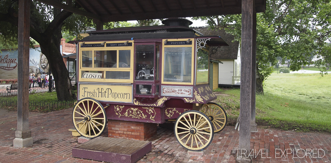 Dallas Historic Village - Popcorn Cart