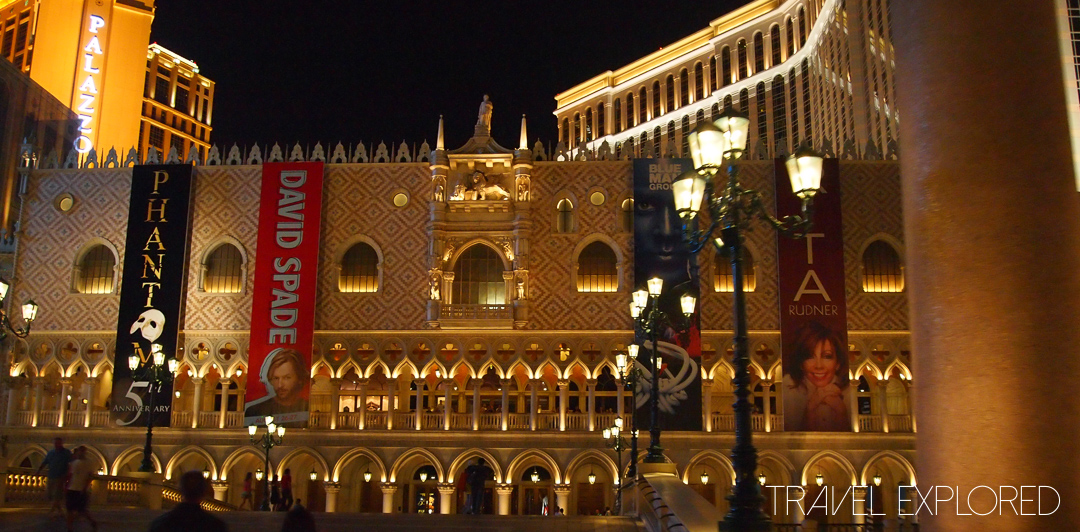 Las Vegas - Venetian Casino Entrance