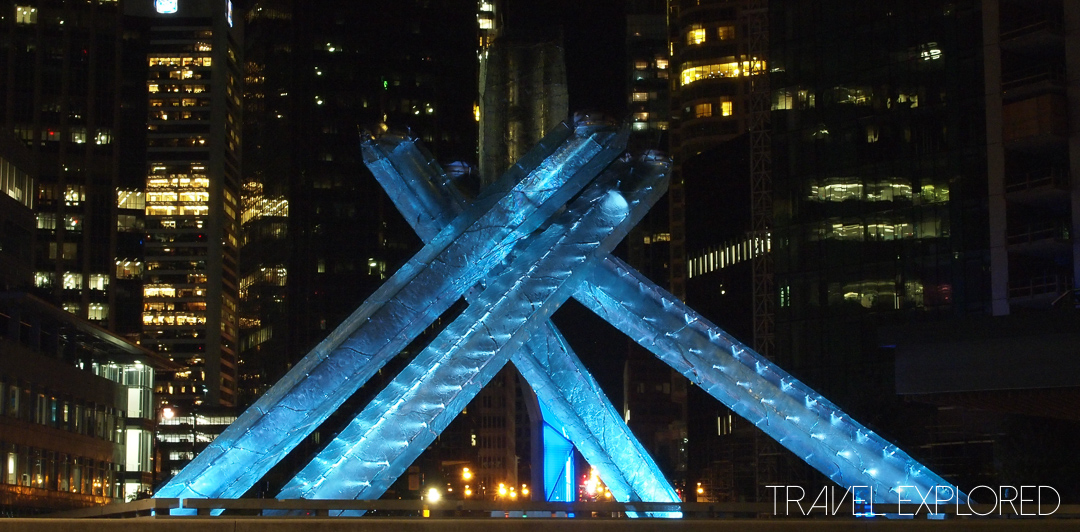 Vancouver - Olympic Cauldron from 2010 Winter Olympics