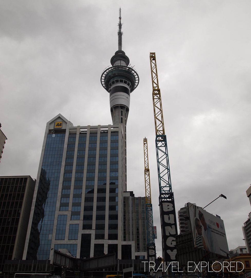 Auckland - Skytower at Skycity Casino
