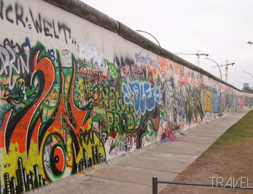 Berlin - Berliner Mauer (East Side Gallery)