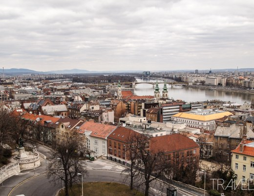 Budapest - View over Danube and the city