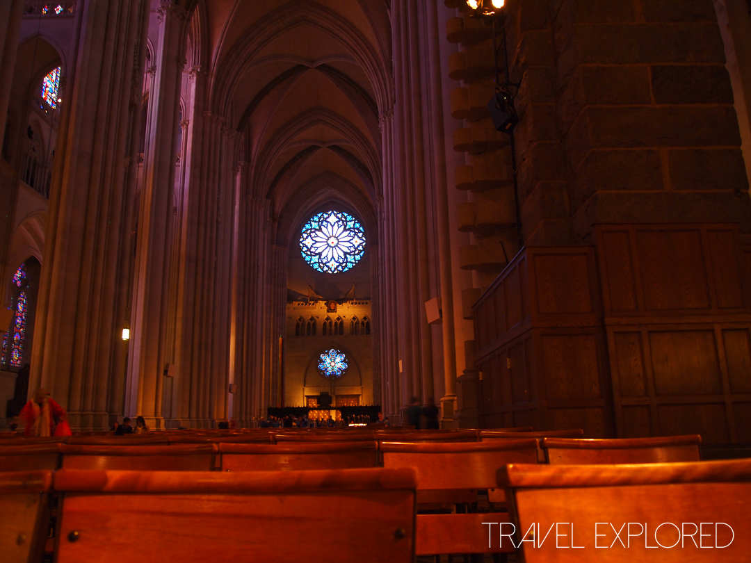 New York - Saint John The Divine Cathedral Interior