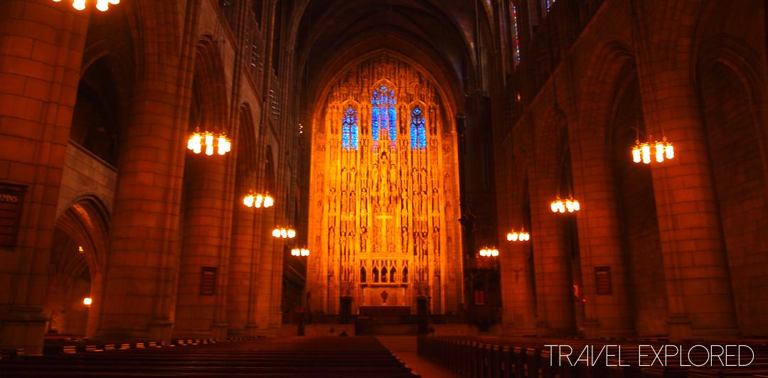 New York - St Thomas Church Interior