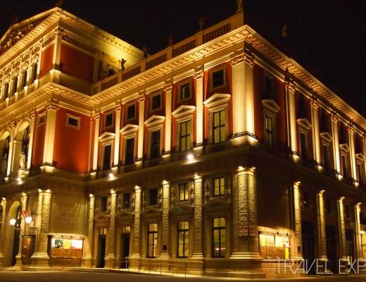 Vienna - Musikvereins Gebäude Night
