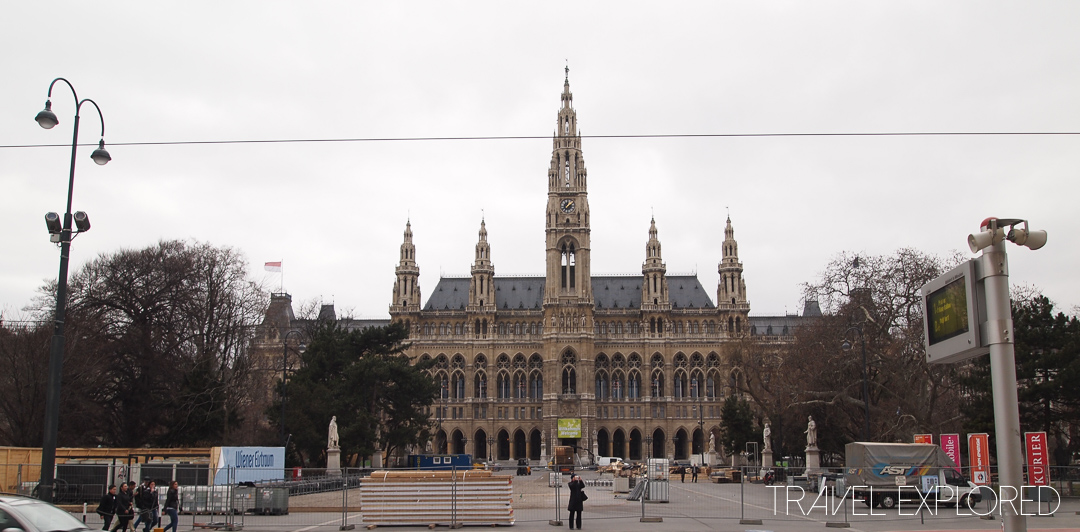 Vienna - Rathaus (City Hall)
