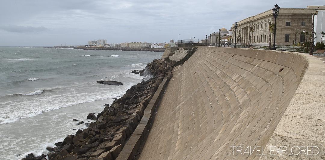 Cadiz - Atlantic Ocean Seawall