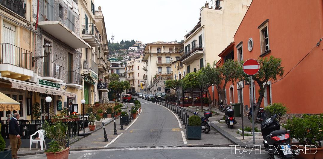 Catania - Taormina Street