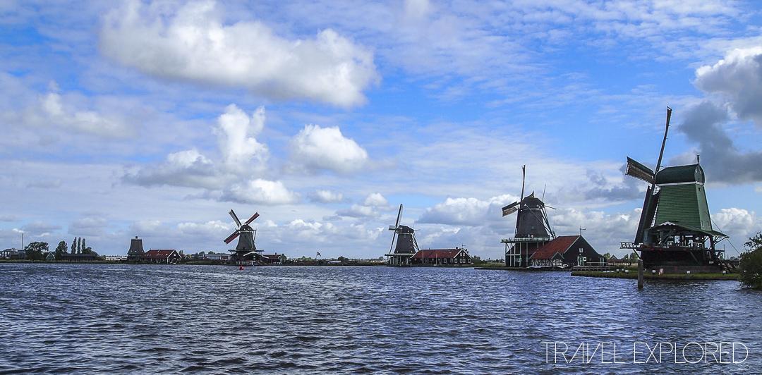 Amsterdam - Zaanse Schans Windmills