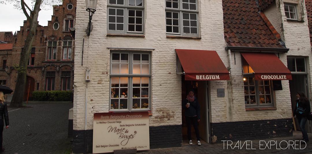Bruges - Chocolate shop