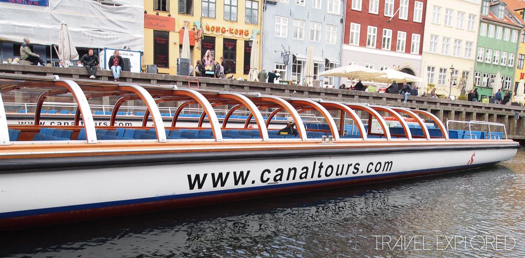 Copenhagen - Canal Tour Boat