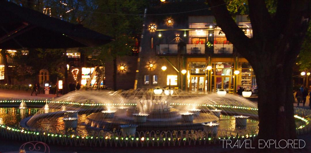 Copenhagen - Tivoli Gardens Fountain