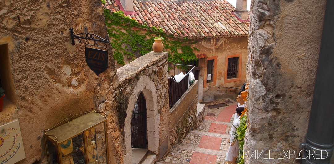 In the village of Eze