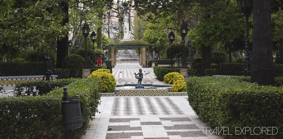 Cadiz - Public garden