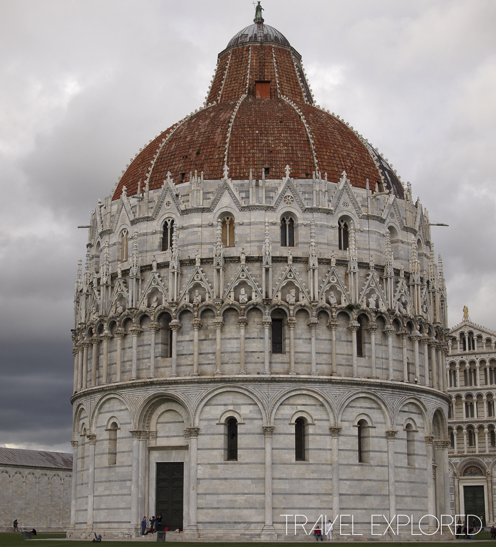 Pisa Baptistery at Cathedral