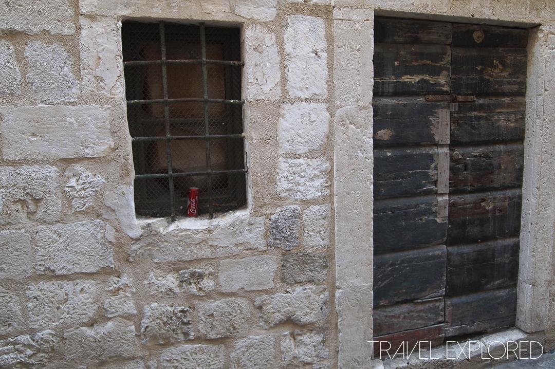 Dubrovnik - Old Town Door and Window