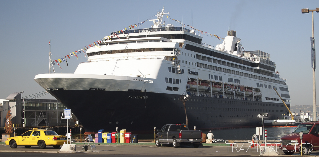 First Cruise MS Statendam in San Diego