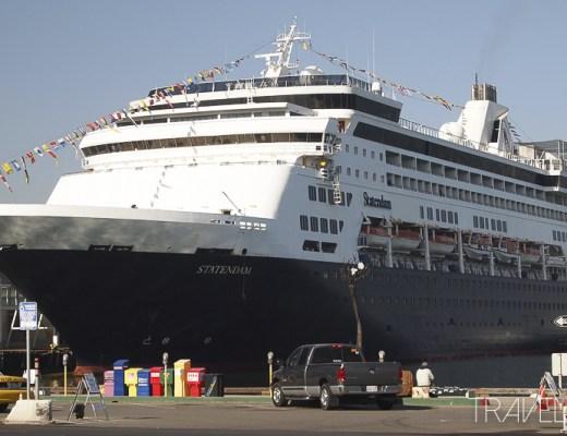 First Cruise MS Statendam in San Diego