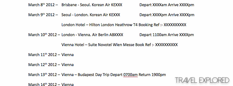 The Art Of Planning An Overseas Trip
