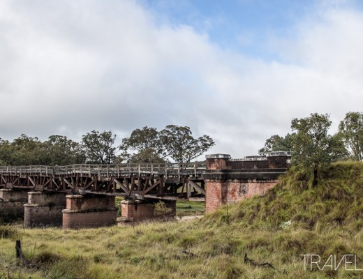Sunnyside Railway Bridge near Tenterfield