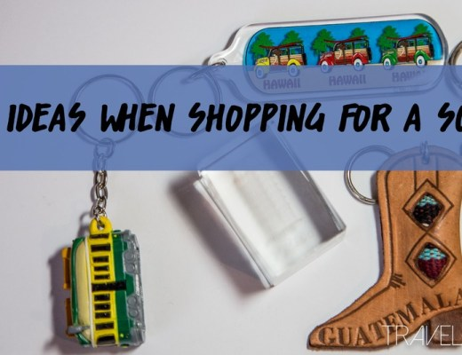 Budget Ideas when shopping for souvenirs