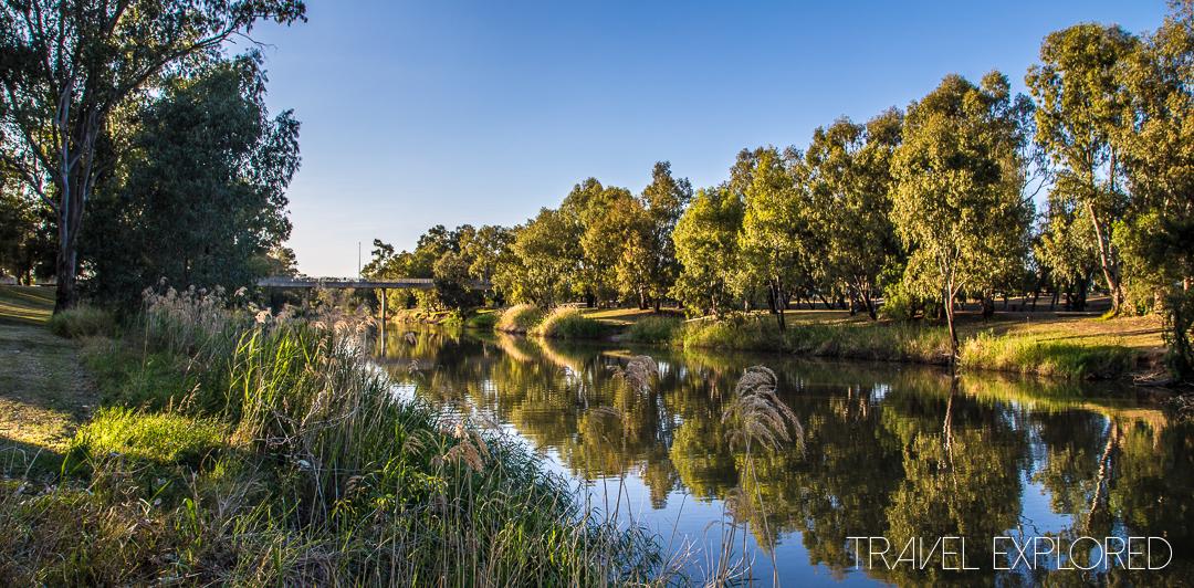 Narrabri - Morning photo of Narrabri Creek