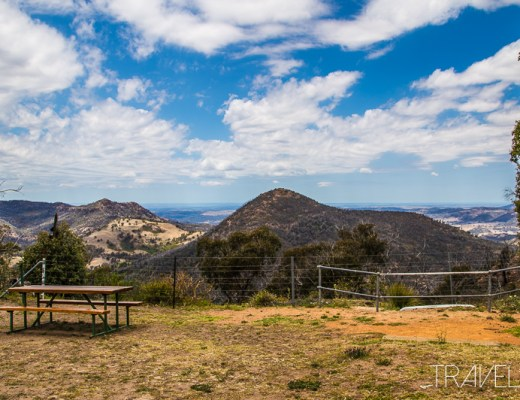View from Siding Springs Observatory