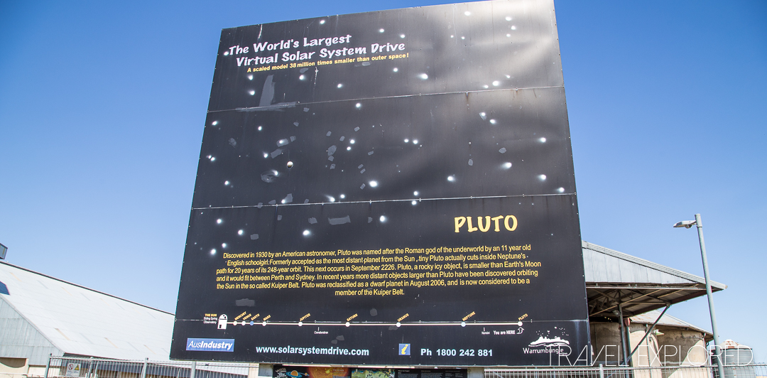 The Solar System Drive - Pluto