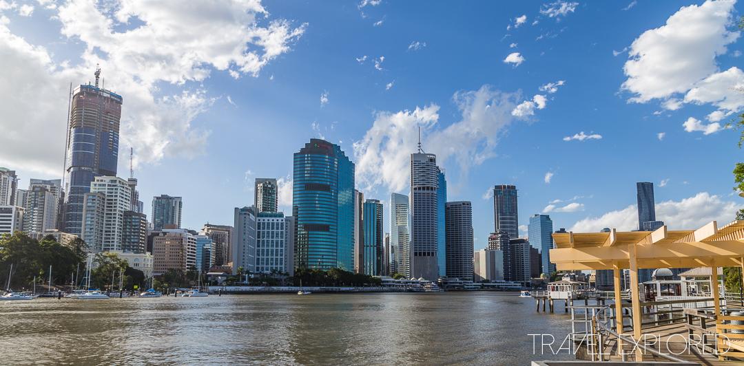 Kangaroo Point - Brisbane City Skyline