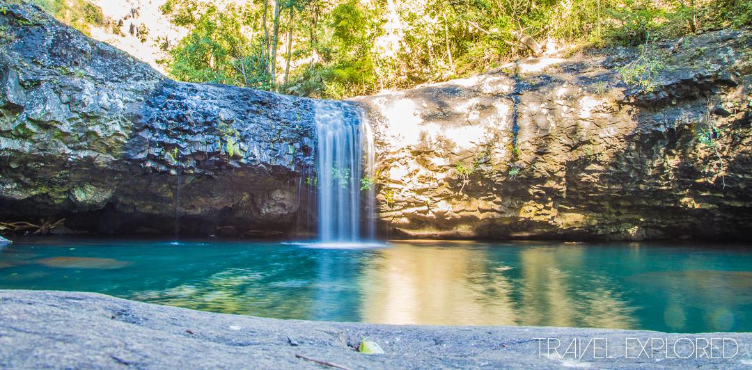 Waterfall - Lips Falls, Back Creek Gorge, QLD